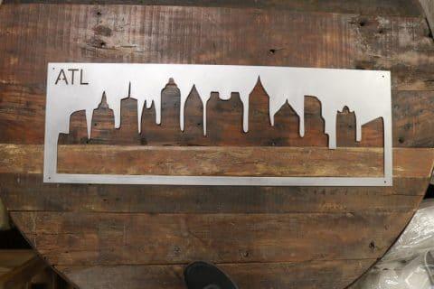 Atlanta Skyline Shadow