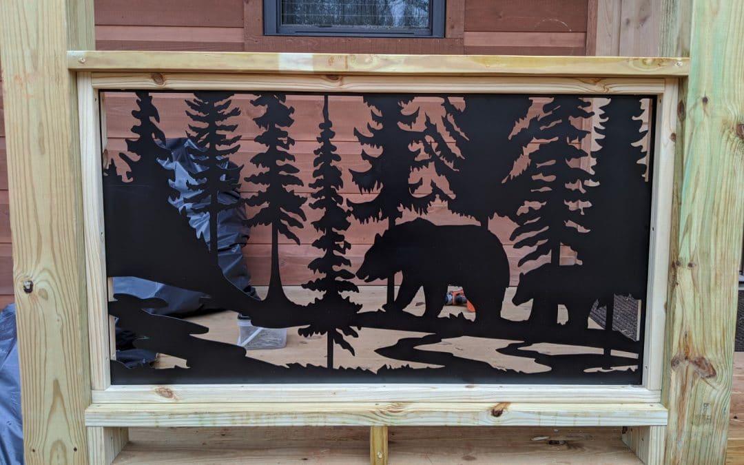 Custom MetalWorx of Art – Bear Mountain