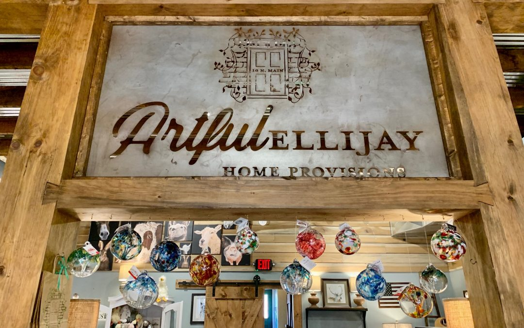 Artful Ellijay – Small Business Supporting Local Artists